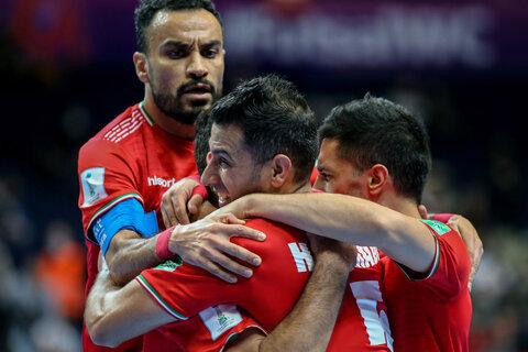 دیدار تیمهای ملی فوتسال ایران و ازبکستان