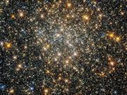 درخشش یک خوشه کیهانی در قلب کهکشان راه شیری