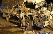 مرگ ۵ عضو یک خانواده در سقوط کامیون به دره | ۲ کودک میان فوتیها