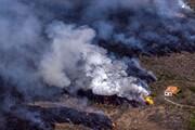 تصاویر | فاجعه در جزیره لاپالما |  ابری از گازهای سمی به سمت اسپانیا حرکت می کند