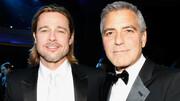 برد پیت و جورج کلونی همبازی میشوند | نبرد استودیوها در تصاحب فیلم