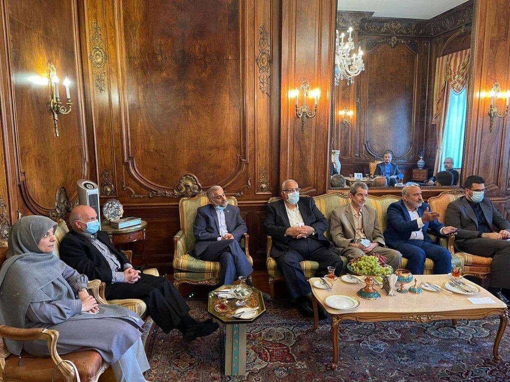 دیدار امیرعبداللهیان با اعضاء دفتر حفاظت منافع ایران در واشنگتن