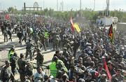 ویدئو | یک فوتی و ۳۶ مجروح در تجمعات زائران اربعین پشت مرزهای عراق | گرفتن تست پیسیآر از زائران در فرودگاه مبدأ و مرزهای زمینی