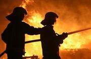 آتش سوزی در یک بیمارستان در خیابان انقلاب تهران + عکس