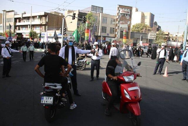 راهپیمایی اربعین - موتورسیکلت سواران