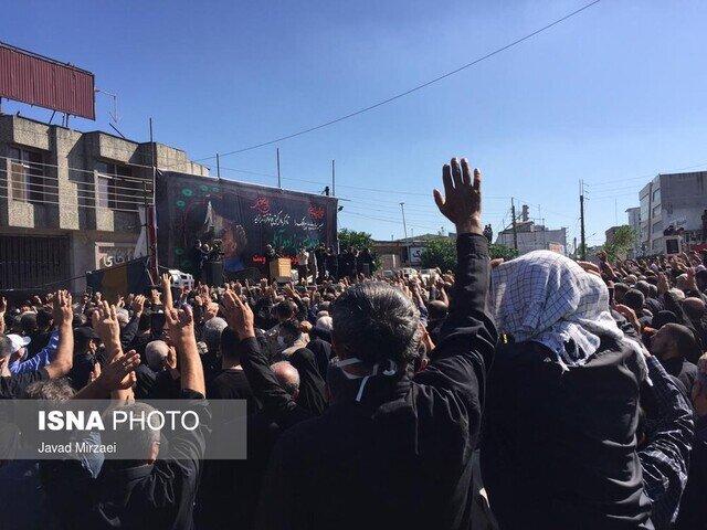 تشییع پیکر علامه حسنزاده آملی
