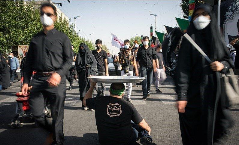 راهپیمایی اربعین - تهران