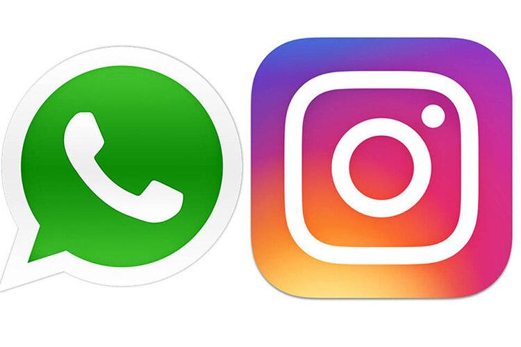 WhatsApp and Instagram - واتساپ و اینستاگرام