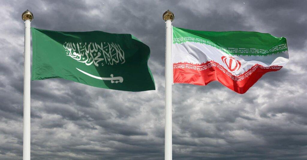 پرچمهاى ايران و عربستان