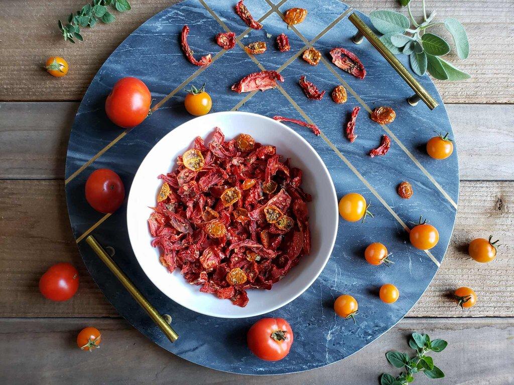 Dried tomatoes - گوجه خشک - گوجه فرنگی