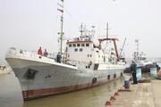 راهاندازی مجدد کشتی تحقیقاتی دریای خزر بعد از ۱۱سال
