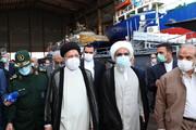 تصاویر | بازدید رئیسی از دستاورد جدید سپاه در بوشهر