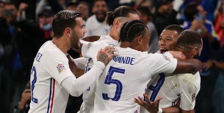 کامبک رویایی فرانسه مقابل بلژیک در دقیقه ۹۰   خروسها مقابل ماتادورها در فینال لیگ اروپا
