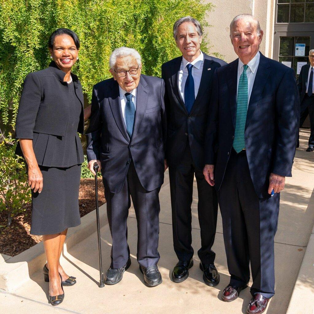 عکس | چهار وزیر خارجه آمریکا در یک قاب