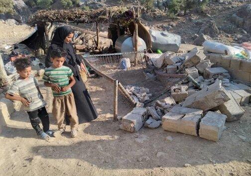 تصاویر | جزئیات وقوع زلزله در خوزستان | وقوع پسلرزه ۴.۶ ریشتری |تخریب ۱۰۰ درصدی ۴۰۰ روستا | مصدومیت ۳ نفر تاکنون