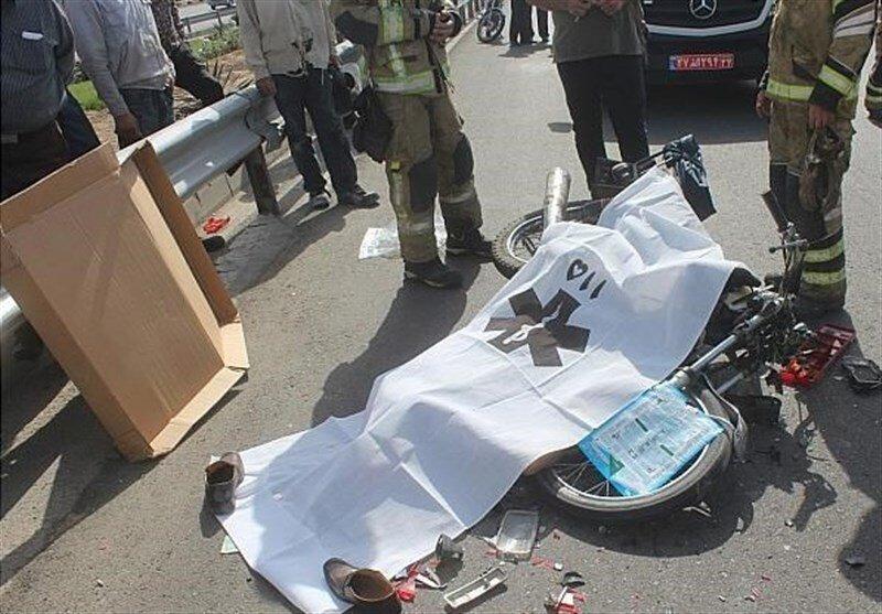 آمار قابل تأمل از فوت موتورسواران و عابران پیاده در پایتخت