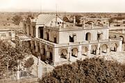 مهمانخانهای قجری که شبیه قصر سلطنتی بود
