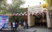 افتتاح ایستگاه شهید رضایی در خط ۶ مترو با حضور شهردار تهران