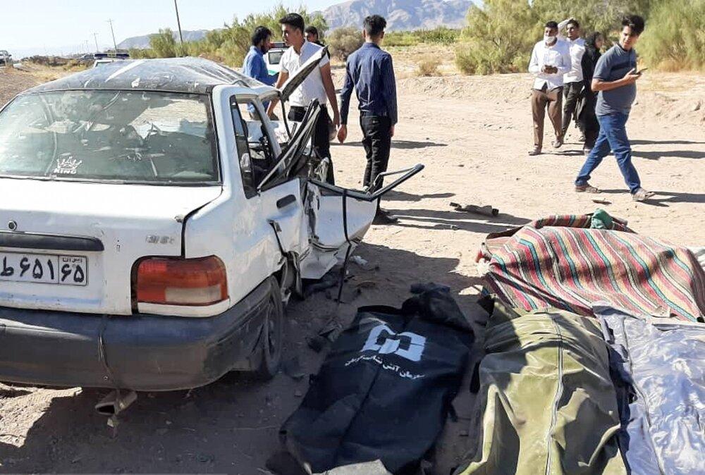 مردها؛ مقصر ۶۵ درصد تصادفات در ایران | فوت ۳/۴ نفر در هر تصادف پراید