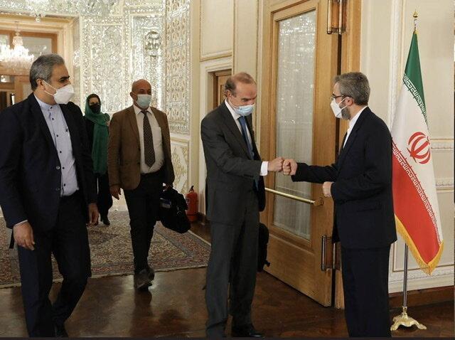 عکس   دیدار برجامی مقام ارشد اتحادیه اروپا با معاون وزیر امور خارجه