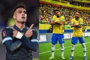 چشمک برزیل و آرژانتین به قطر | آتشبازی بولیوی و شیلی