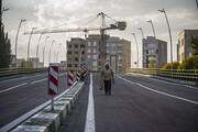 افتتاح آزمایشی عرشه اصلی پل قدس اردبیل