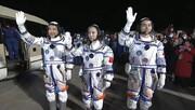 چین دومین گروه فضانوردان را به ایستگاه فضایی جدیدش میفرستد