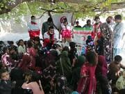 عکس | امدادرسانی هلال احمر ایران به زلزلهزدگان در بلوچستان پاکستان