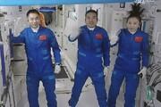فیلم| سه فضانورد به ایستگاه مداری جدید چین رسیدند