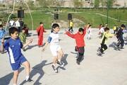 کودکان منطقه ۹ صاحب ایستگاه ورزش همگانی شدند