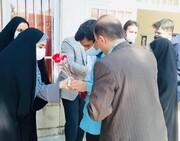 مسابقات فرهنگی و ورزشی در مدرسه نابینایان شهید خزائلی