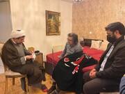 عیادت نمایندگان شهردار تهران از رضا رویگری