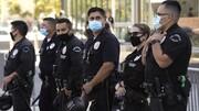 مرگ نیروی پلیس آمریکا در دوران کرونا ۵ برابر شده است