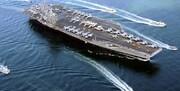 «ناو هواپیمابر رونالد ریگان»، خلیج فارس را ترک کرد