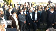 بازدید رئیسجمهوری از بزرگترین شهرک گلخانهای کشور در مغان