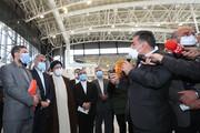 بازدید رئیسی از پروژه ریلی ۱۶ ساله | انتظار مردم برای افتتاح راه آهن طولانی شده است