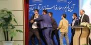 ویدئو | کتککاری در مراسم تکریم و معارفه استاندار آذربایجانشرقی! | استاندار جدید سیلی خورد