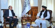 دیدار سفیر ایران و وزیر خارجه طالبان