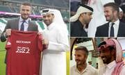 قرارداد نجومی قطری ها با دیوید بکام برای جام جهانی | بازیکن بازنشسته گران تر از فوق ستاره های فوتبال