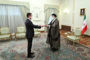 سفیر جدید جمهوری آذربایجان استوارنامه خود را تقدیم رئیسی کرد