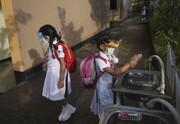 عکس روز| بازگشت به مدرسه