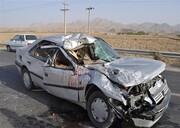 حادثه مرگبار در جاده جهرم به لار با ۴ کشته و ۱۴ مصدوم
