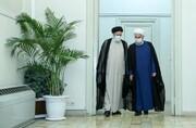 عکس | «تخلیه خزانه» چهار روز پیش از تحویل دولت به رئیسی