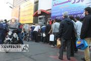 تصاویر اختصاصی همشهری از  وضعیت پمپ بنزینهای تهران