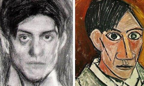 نخستین نقاشیهای پیکاسو را تماشا کنید