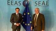 مذاکرات گروسی و بورل درباره توافق هستهای ایران